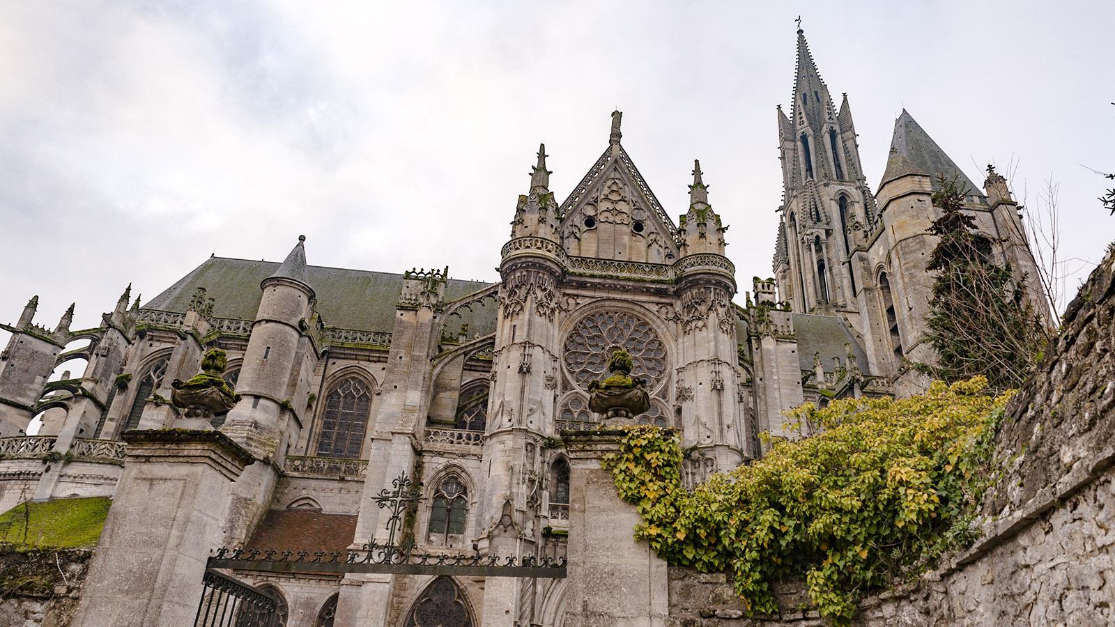 Kinoreife Kulisse: die Kathedrale von Senlis. Foto: Hilke Maunder