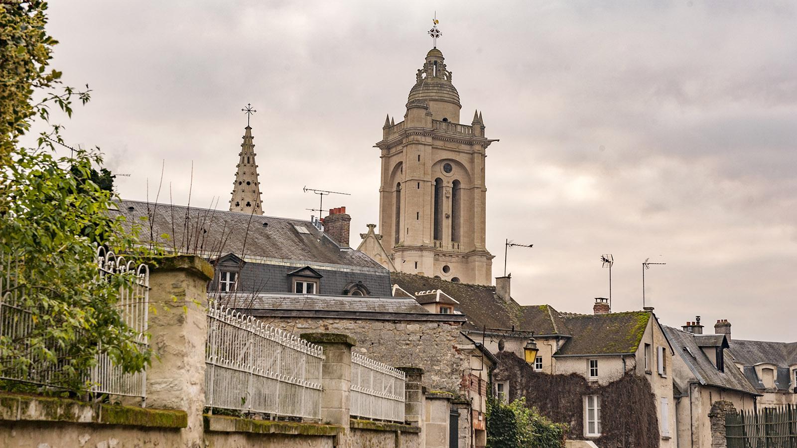 Berühmtes Wahrzeichen von Senlis: die Kathedrale. Foto: Hilke Maunder