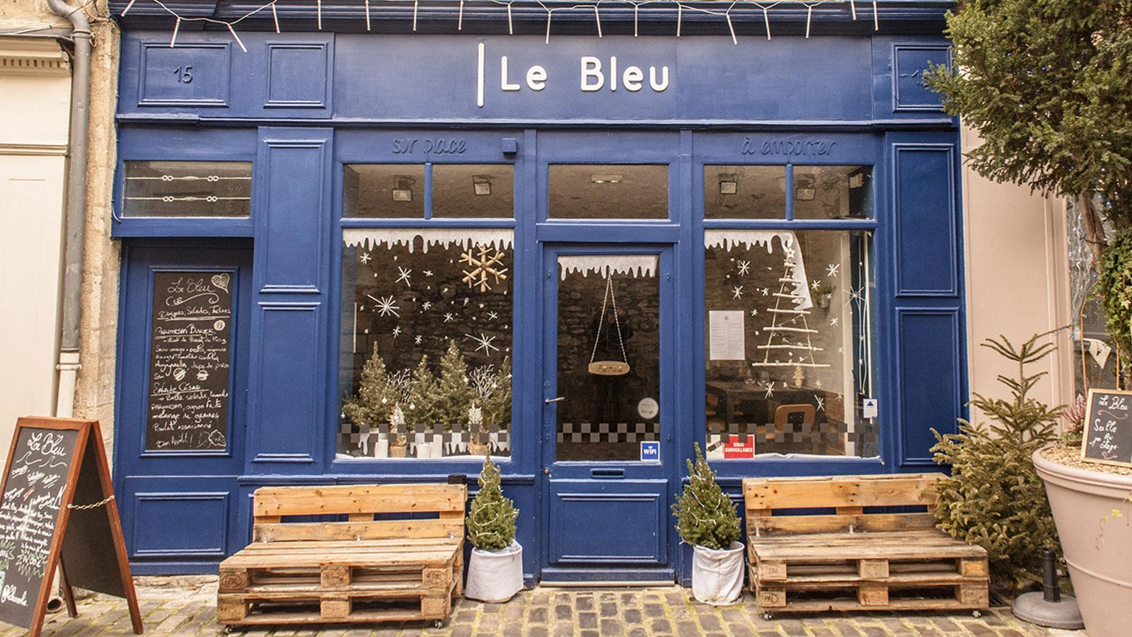 Hotspot der Szenegänger von Senlis: Le Bleu. Foto: Hilke Maunder