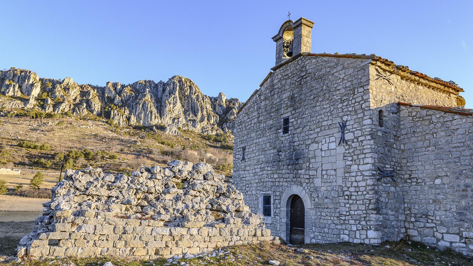 Haute-Provence: Die Kapelle von Séranon. Foto: Hilke Maunder