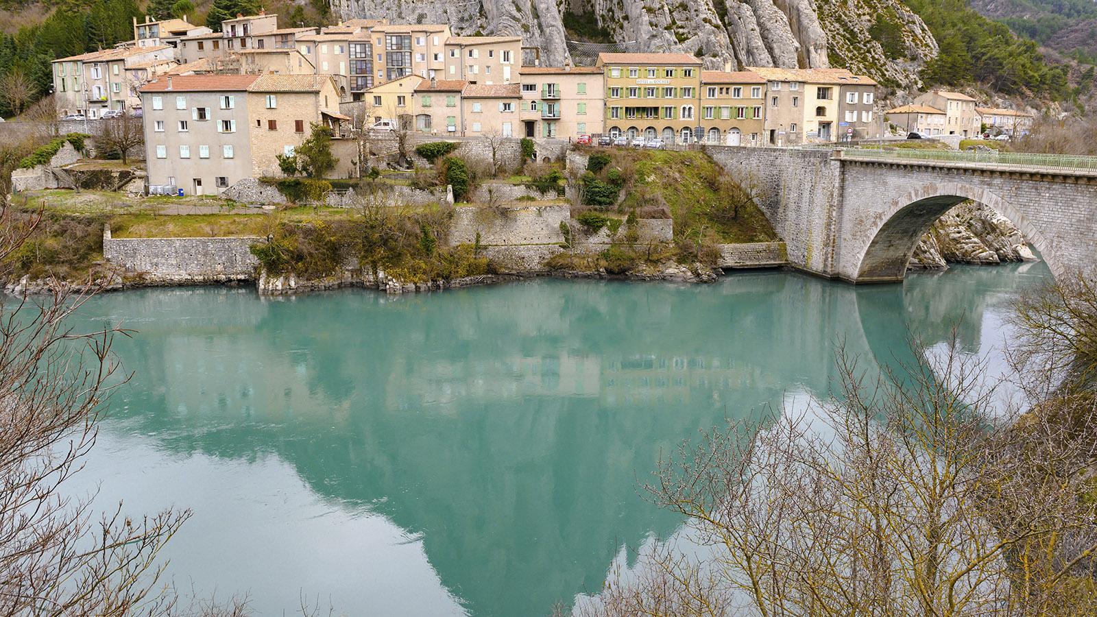 Haute-Provence: Sisteron an der Durance. Foto: Hilke Maunder