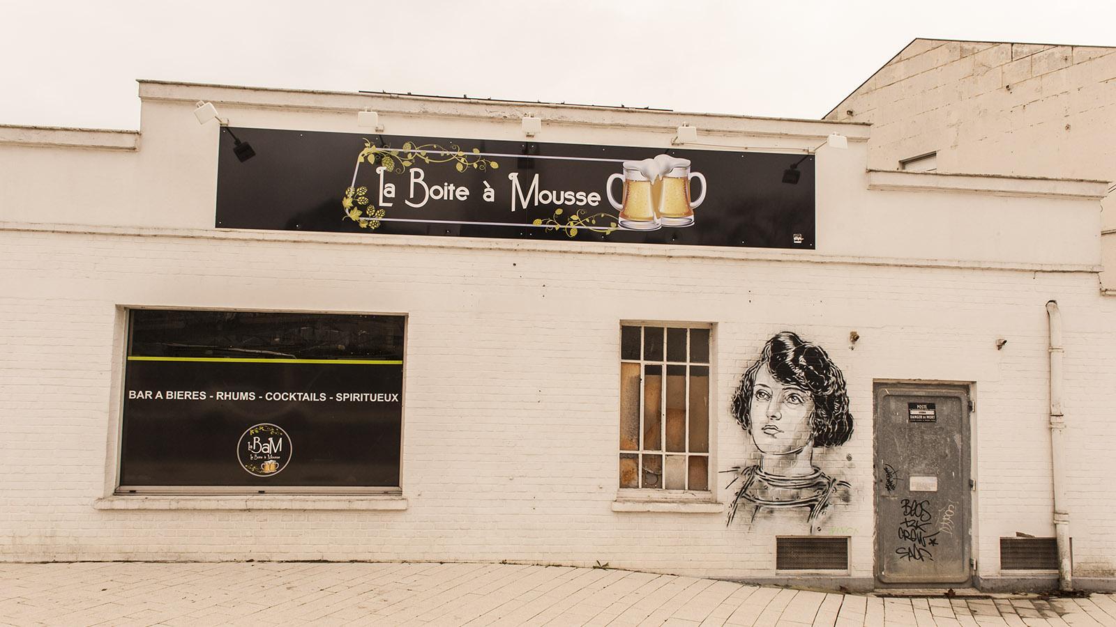 Beliebte Bar am Boulevard Jeanne d'Arc: La Boîte à Mousse. Foto: Hilke Maunder