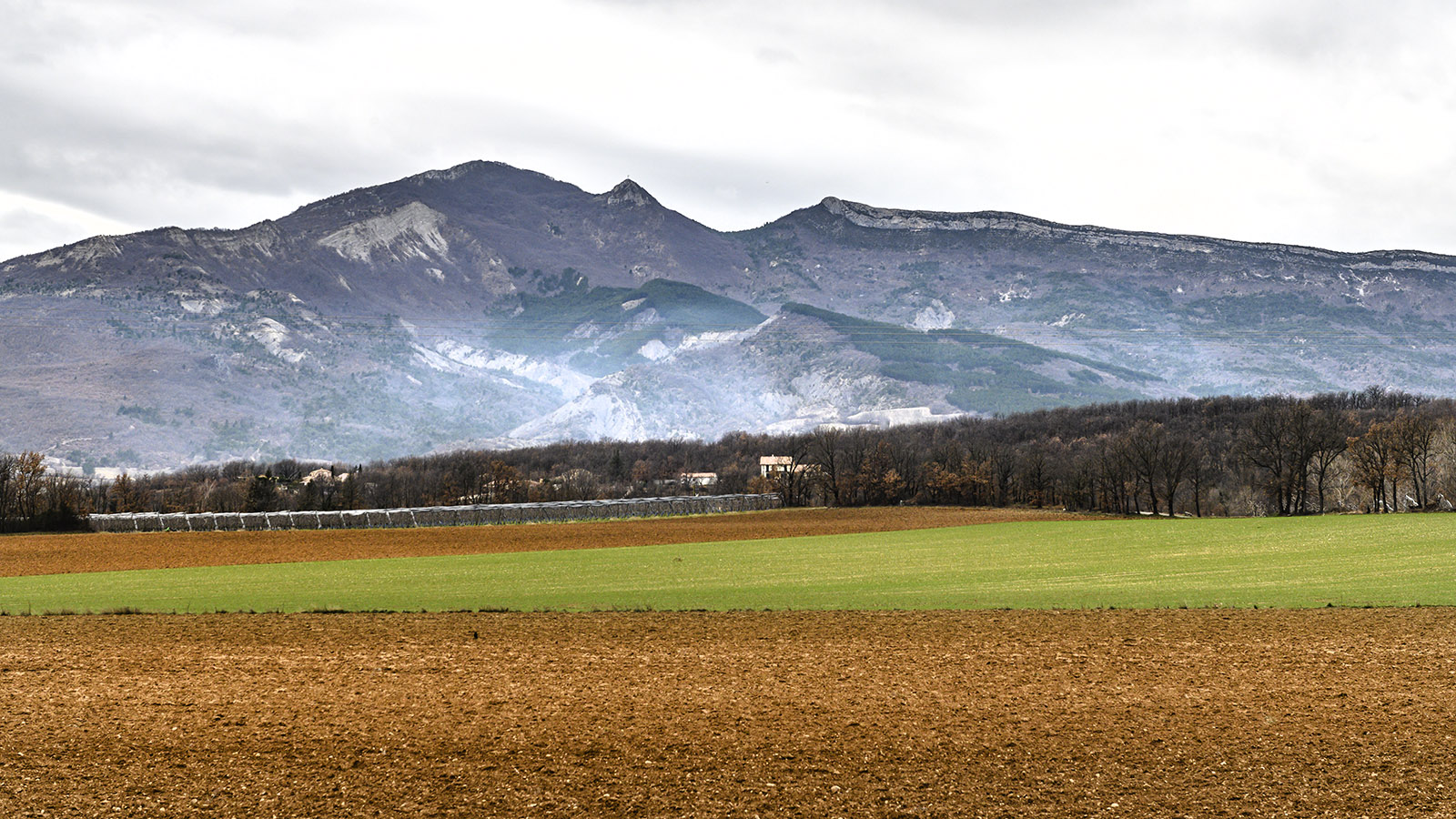 Der Geopark der Haute-Provence bei Digne-les-Bains. Foto: Hilke Maunder