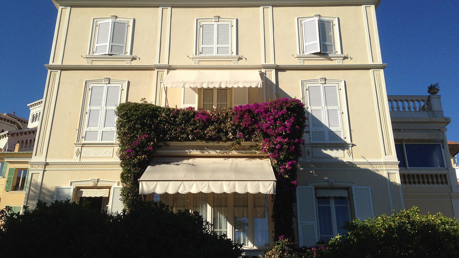 Was solch ein schönes Haus wohl kostet in Monaco? Foto: Hilke Maunder