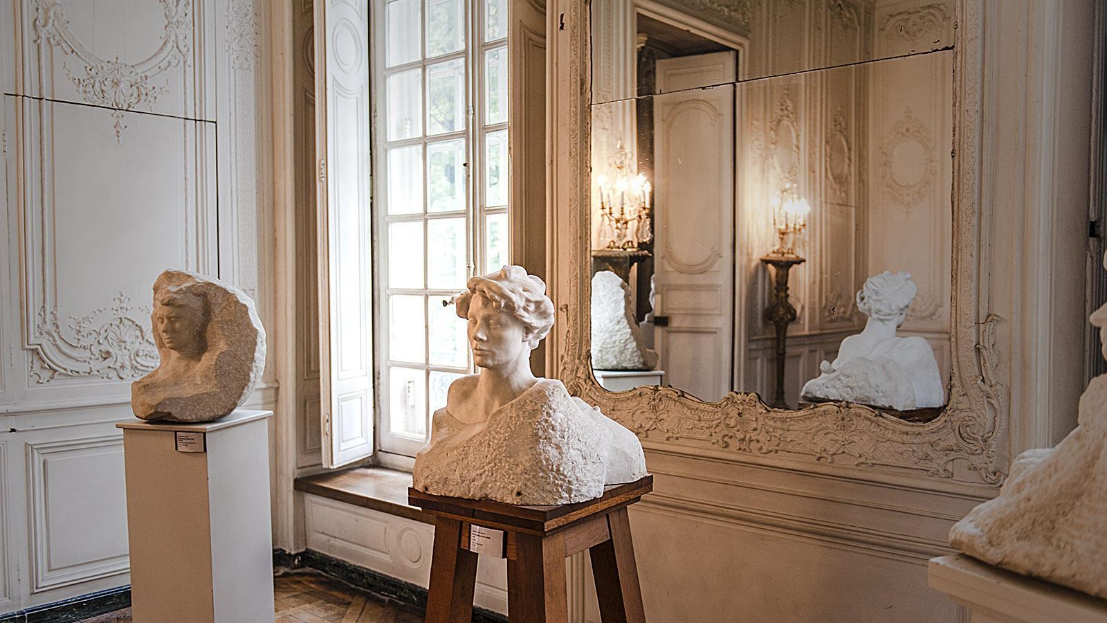 Großbürgerliche Interieurs und feinste Statuen von Rodin und seiner Muse Camille Claudel: Das Musée Rodin ist ein Gesamtkunstwerk! Foto: Hilke Maunder