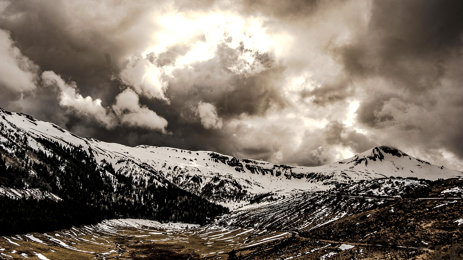 Auvergne: bei La Virgerie im Cantal. Foto: Hilke Maunder