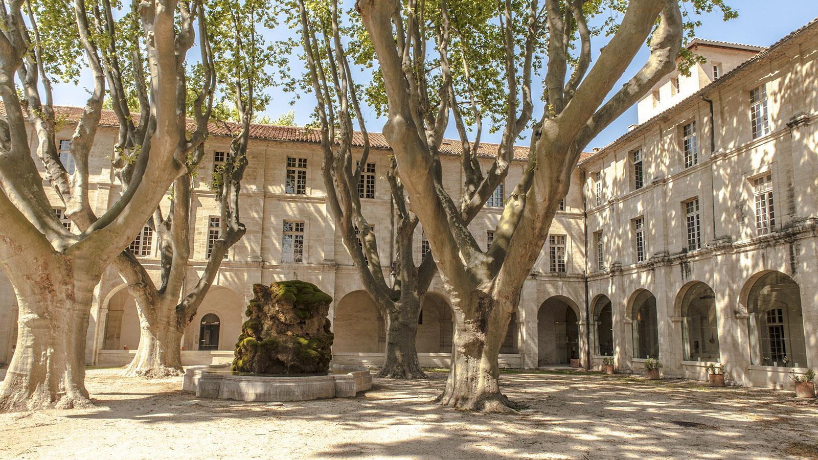 Vom kargen Kloster zur Luxusherberge: die Verwandlung des Cloître Saint-Louis. Foto: Hilke Maunder