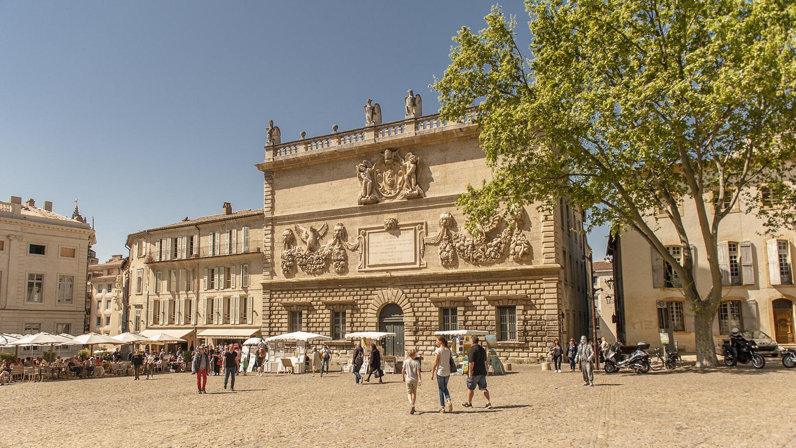 Das Hôtel des Monnaies auf der Place du Palais. Foto: Hilke Maunder