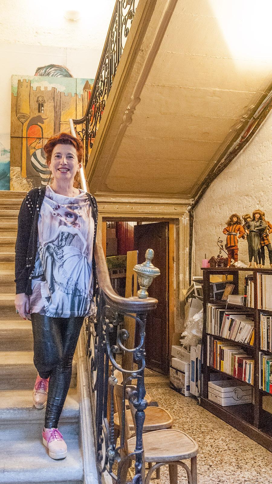 Die Inhaberin der Maison Fogasses. Foto: Hilke Maunder
