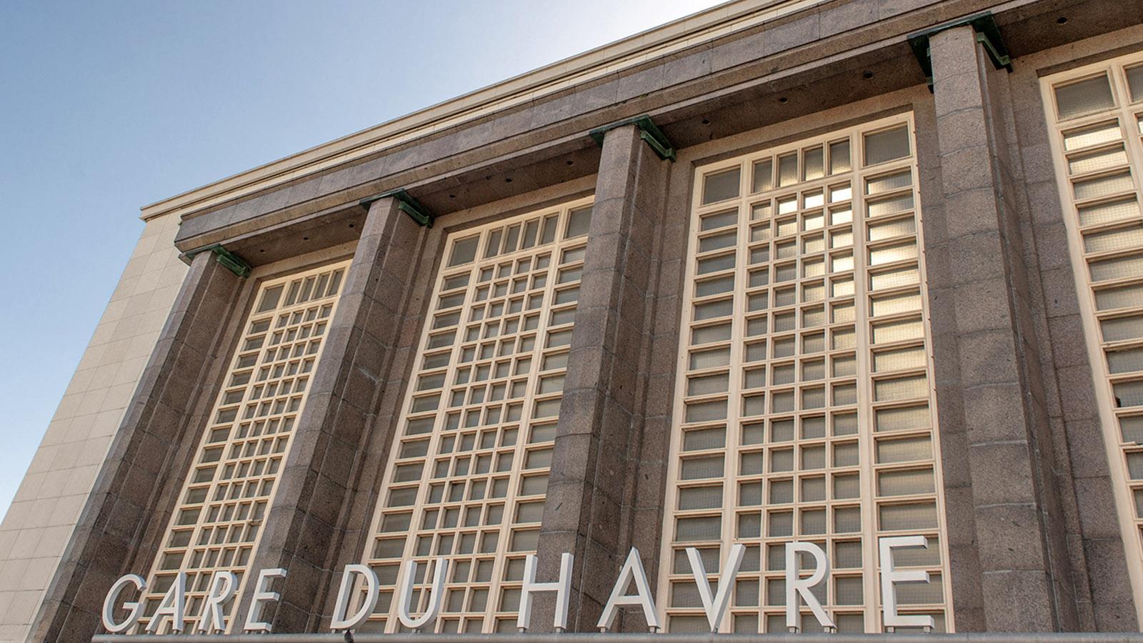 Bahn-Fahren in Frankreich: Der Bahnhof von Le Havre. Foto: Hilke Maunder