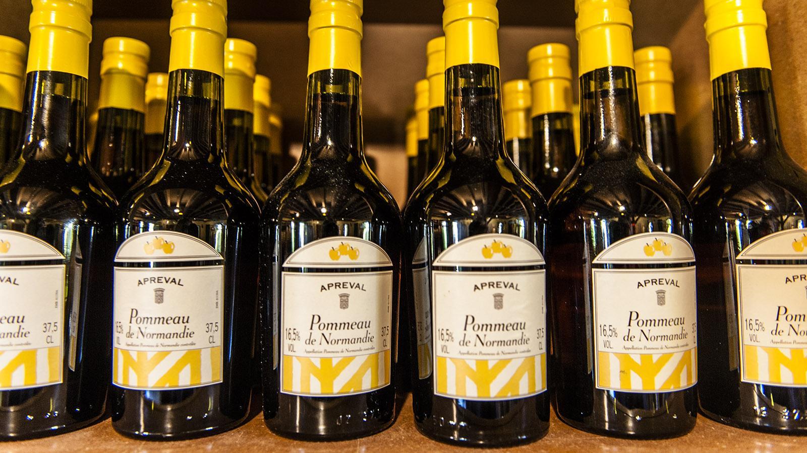 Pommeau ist frisch gepresster Apfelsaft, den junger Calvados am Gären hindert. Foto: Hilke Maunder