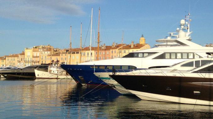 Der Hafen von Saint-Tropez. Foto: Hilke Maunder