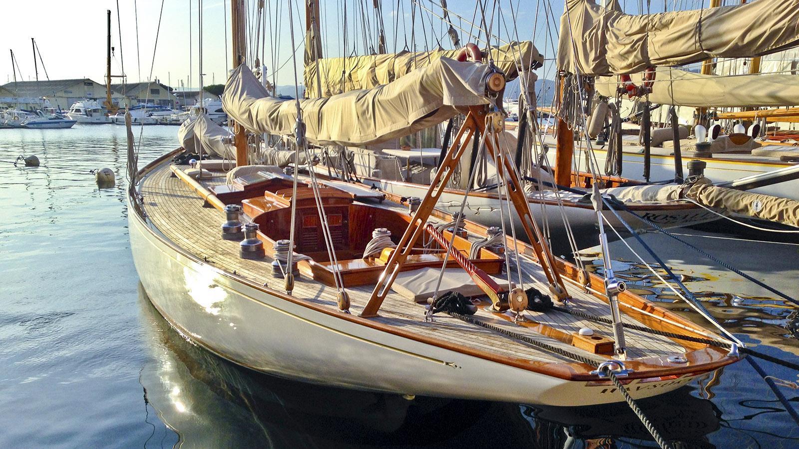 Im Hafen von Saint-Tropez. Foto: Hilke Maunder
