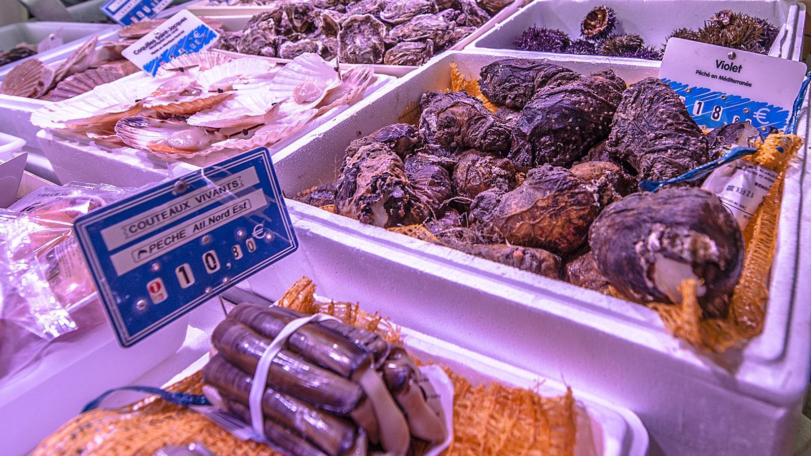 Violet de Mer: eine selten gewordene Seafood-Spezialität. Foto: Hilke Maunder