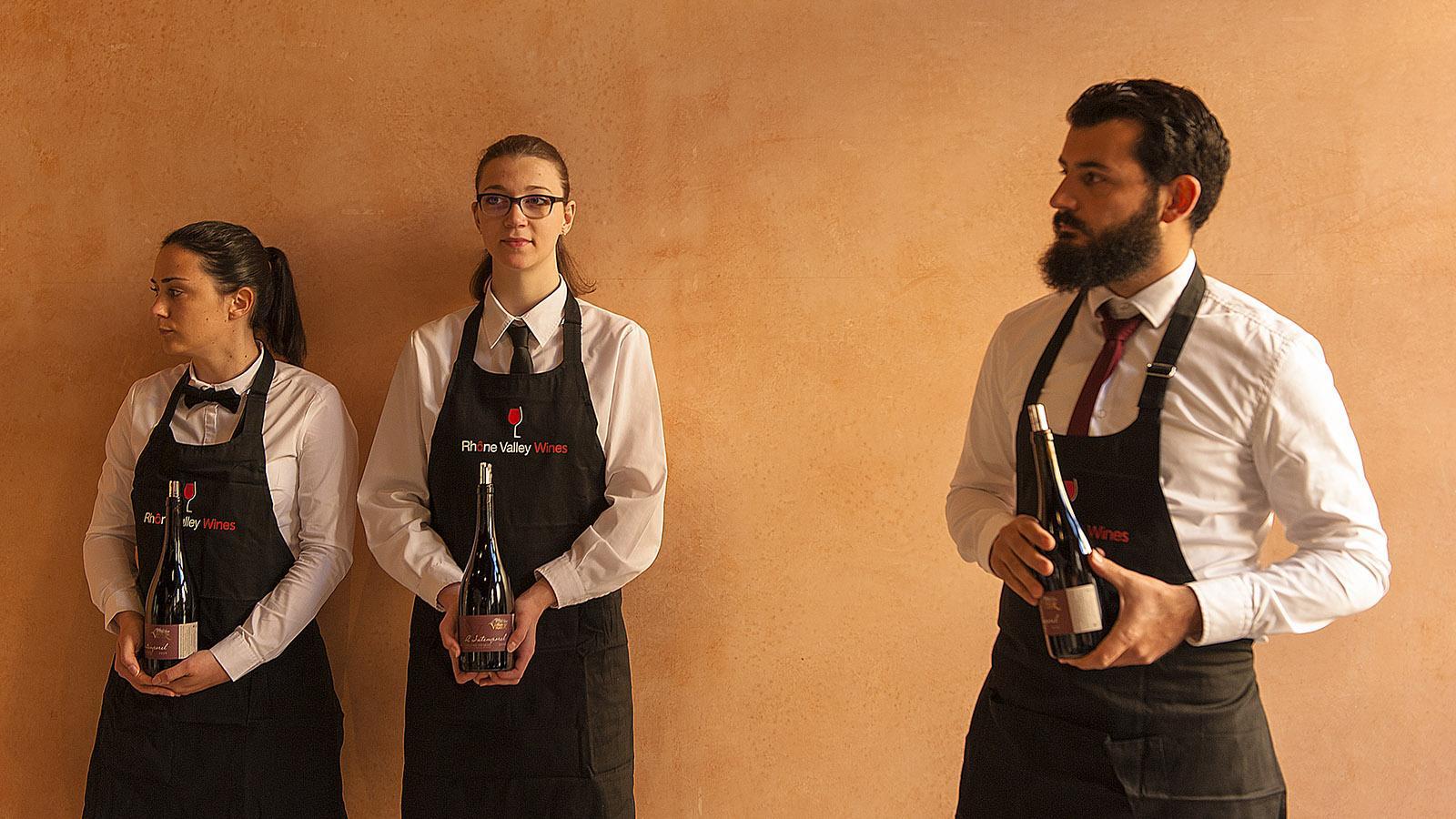 Weinausschank in Avignon. Foto: Hilke Mander
