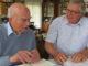 Manfred Hammes im nterview mit Pierre Radvanyi, Sohn von Anna Seghers. Foto: Manfred Hammes