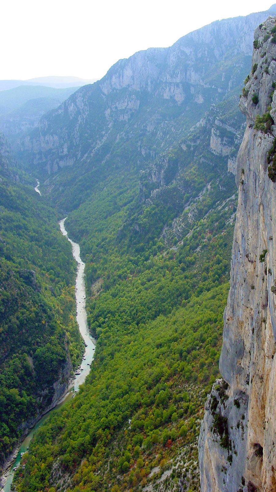 Gorges du Verdon: die Routes des Crêtes bei La Palud-du-Verdon. Foto: Hilke Maunder