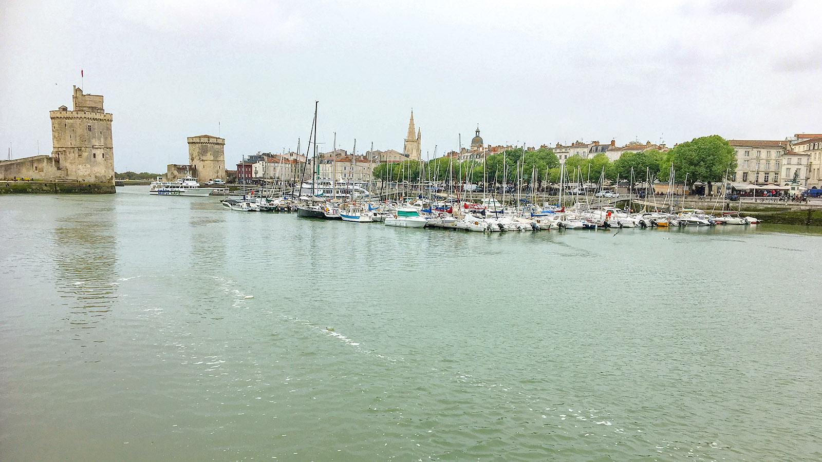 Der Hafen von La Rochel. Foto: Hilke Maunderle