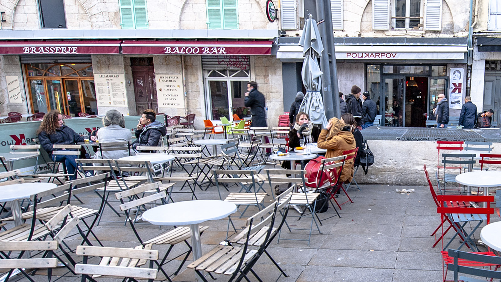 Marseille: Café Polikarnov. Foto: Hilke Mauder