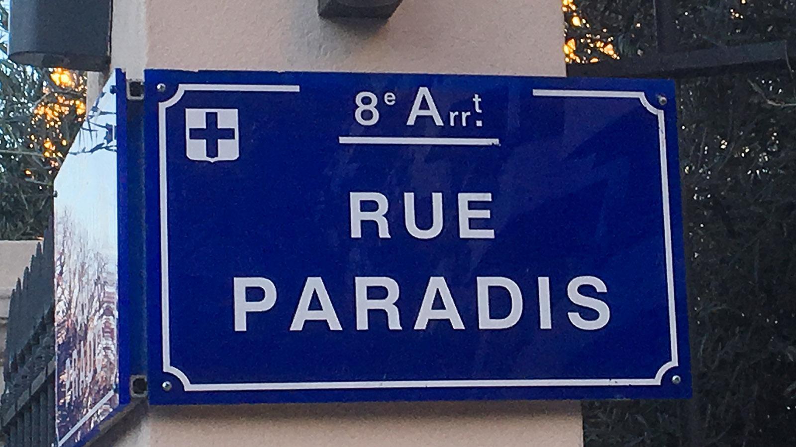 Das Paradies von Marseille findet ihr im Prado-Stadtviertel - dort liegt die Rue du Paradis. Foto. Hilke Maunder