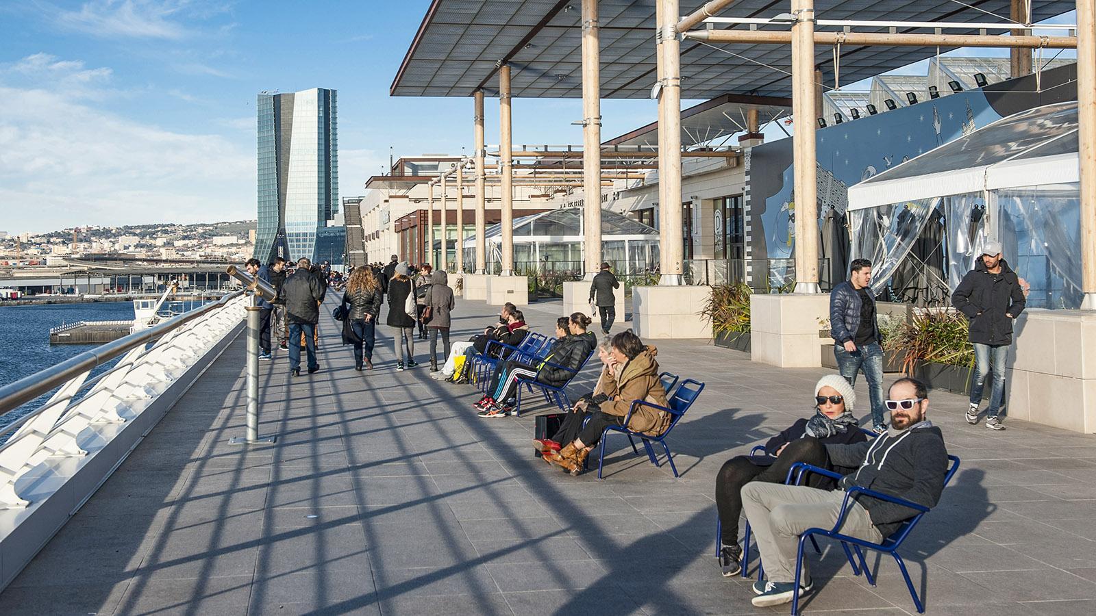 Marseille: Les Terrasse du Port. Foto: Hilke Maunder