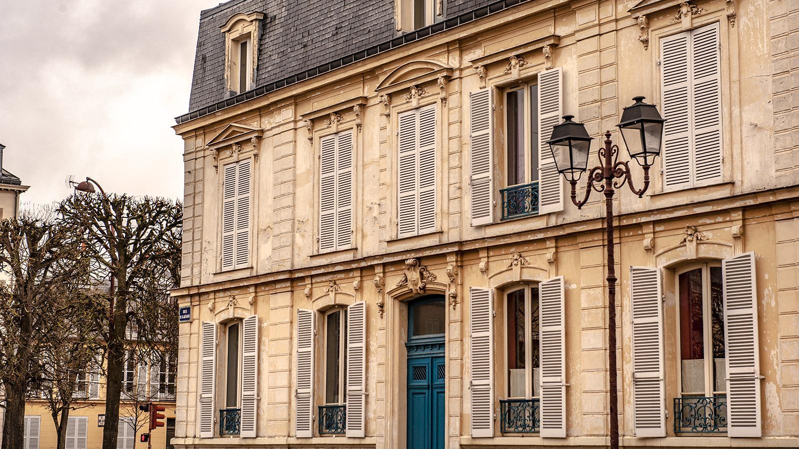 Stadthaus in Versailles. Foto: Hilke Maunder