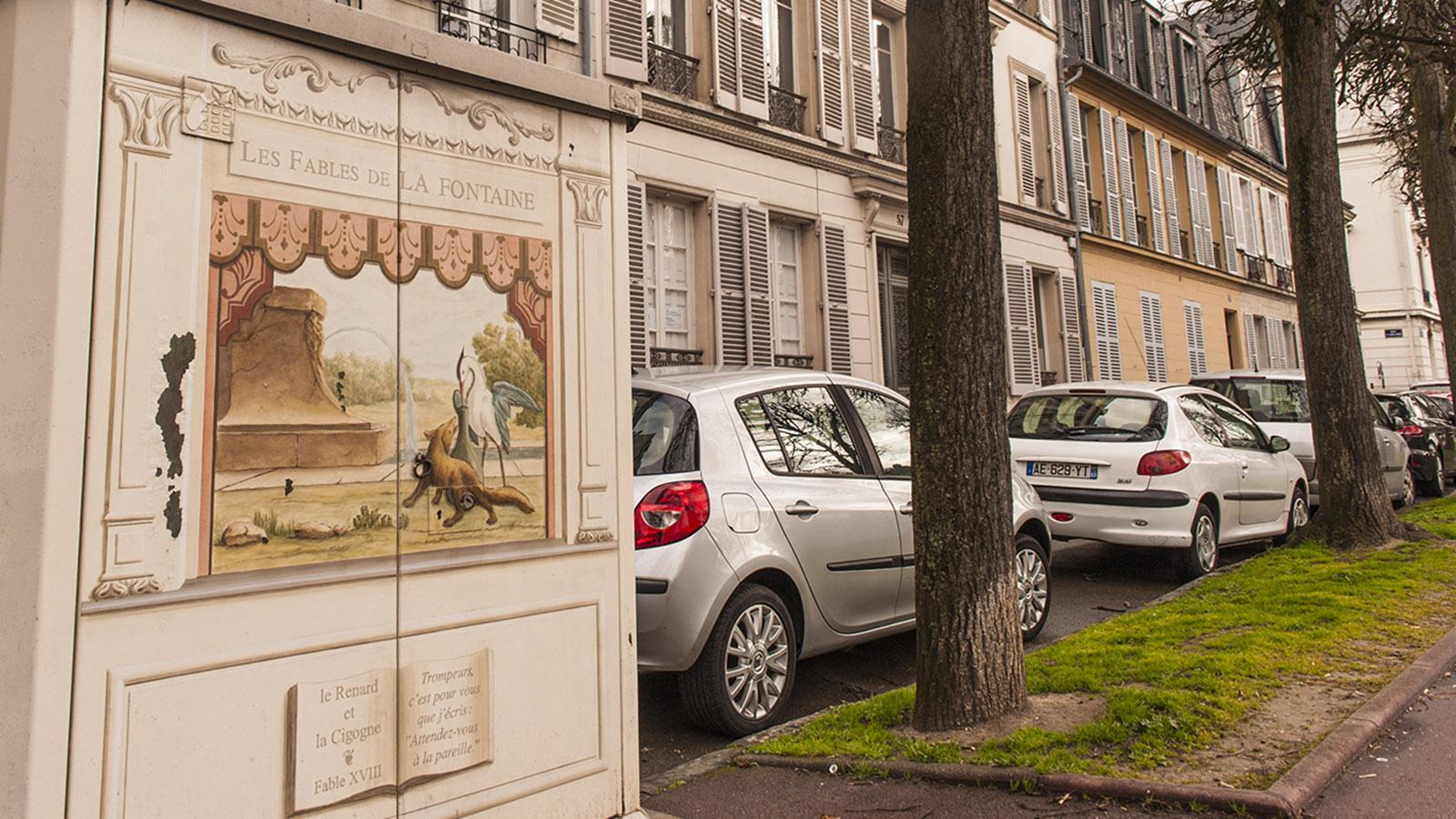 Street Art in Versailles. Foto: Hilke Maunder