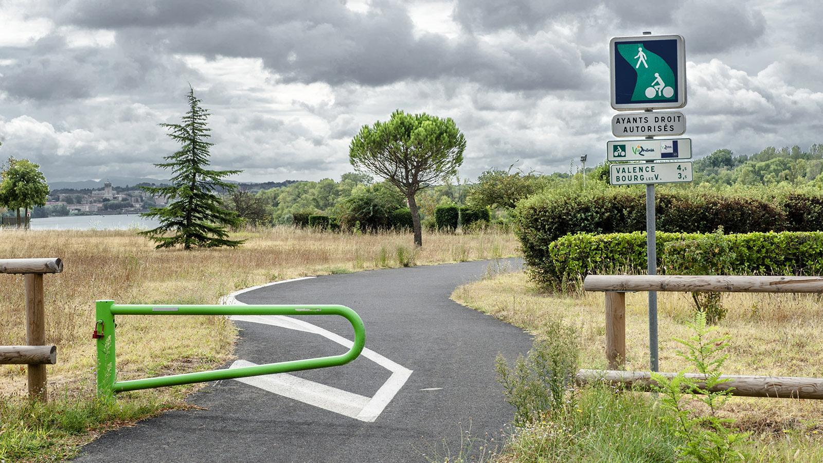 Radwandern: So sehen voies vertes aus, Frankreichs Radwege abseits vom Verkehr.