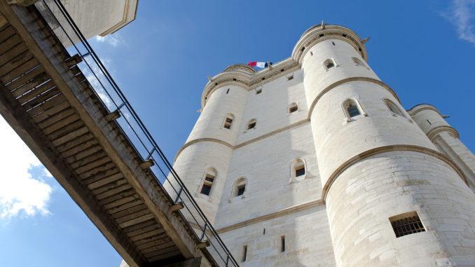 Der Donjon des Château de Vincennes. Foto: Hilke Maunder
