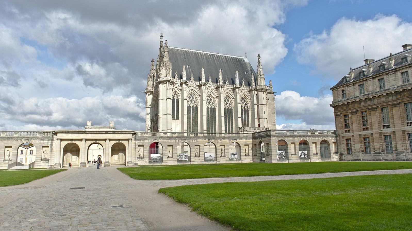 Château de Vincennes: die Schlosskapelle. Foto: Hilke Maunder