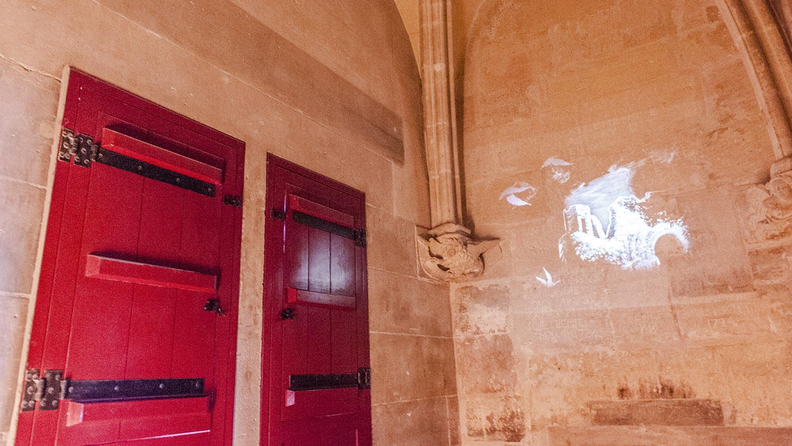 Eine Zelle des einstigen Staatsgefängisses. Foto: Hilke Maunder