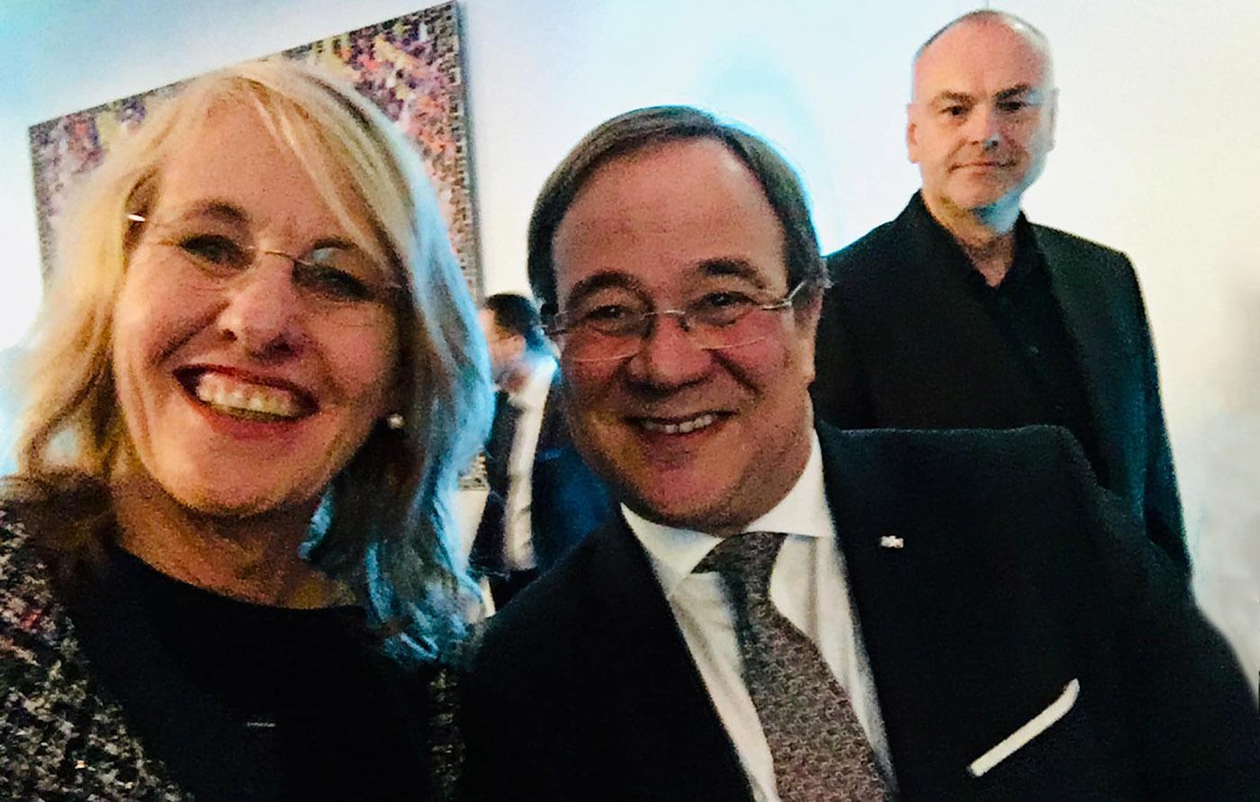 Mein Tischherr bei Goût de France 2019: Armin Laschet, Ministerpräsident von Nordrhein-Westfalen und Kulturbevollmächtigter der Bundesrepublik Deutschland für Frankreich. Foto: Hilke Maunder