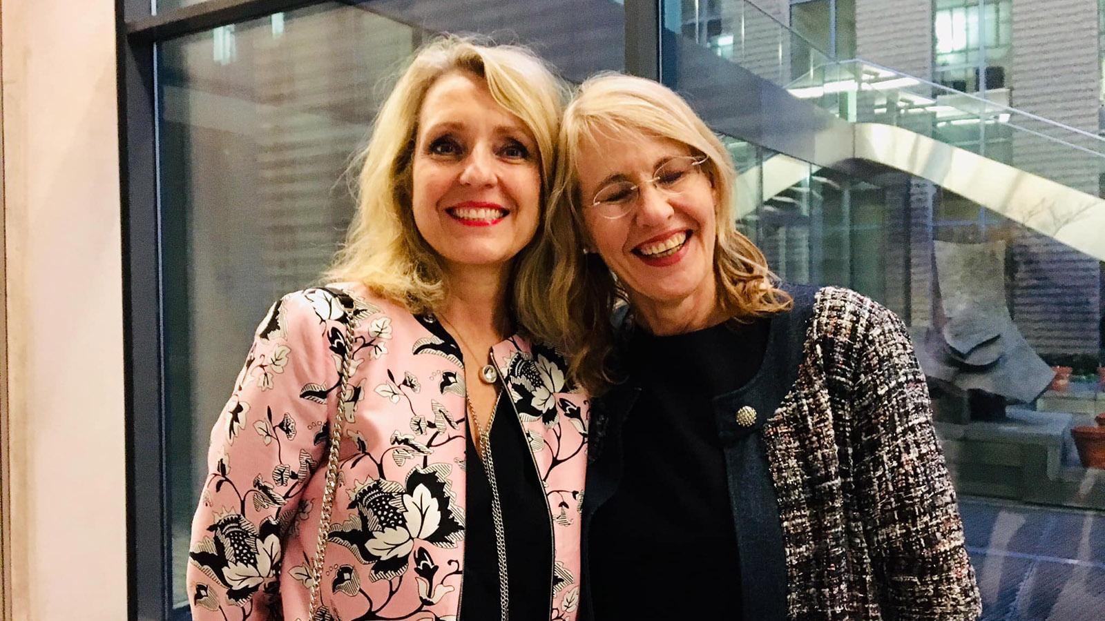 Goût de France 2019: Wiedersehen mit Cahterine Briat, Staatsrätin für Kultur und Leiterin des IF Deutschland. Foto: Hilke Maunder