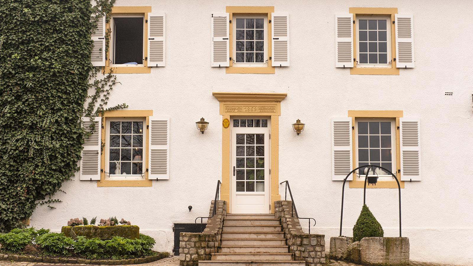 Die Auberge de la Klauss von Montenach. Foto: Hilke Maunder