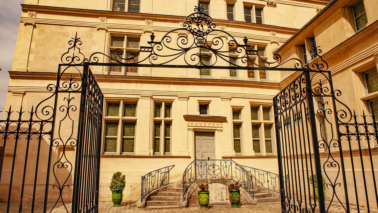 Château-Thierry: das Geburtshaus von Jean de la Fontaine.