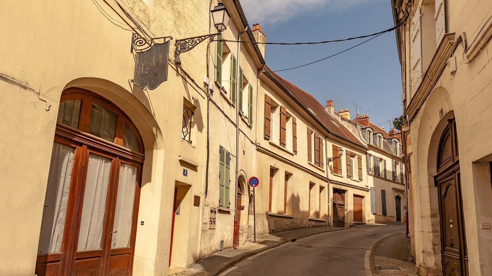 In dieser Straße wurde Jean de la Fontaine in Château-Thierry geboren.