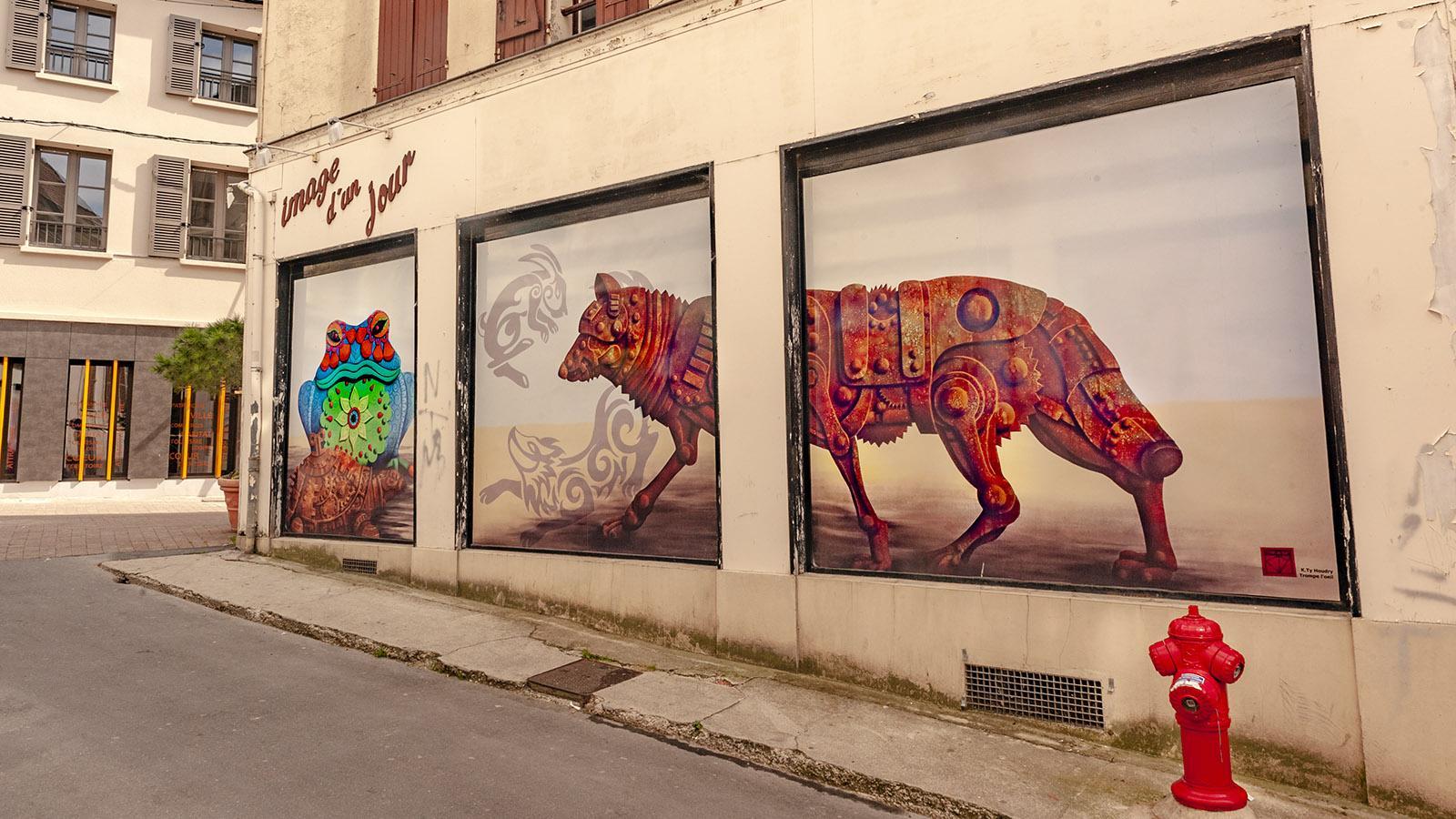 Street Art im Herzen von Château-Thierry. Foto: Hilke Maunder