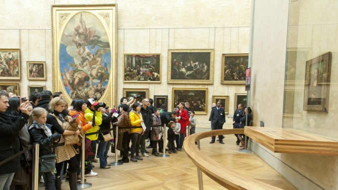 Die Mona Lisa - das berühmteste Werk von Leonardo da Vinci. Foto: Hilke Maunder
