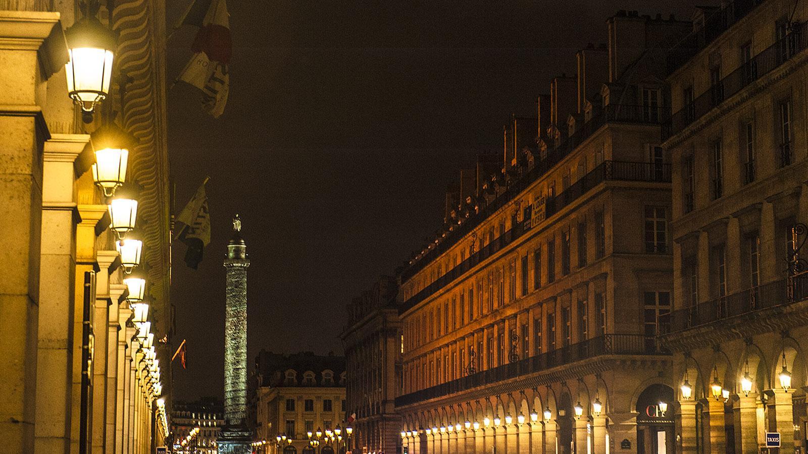 Die Rue de Castiglione führt von den Tuilerien auf die Place Vendôme. Foto: Hilke Maunder
