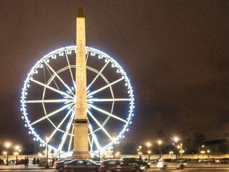 Paris: Place de la Concorde, nachts. Foto: Hilke Maunder