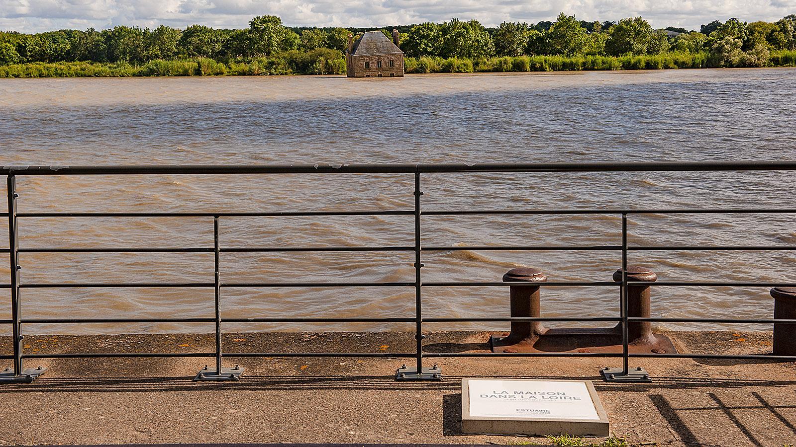 Estuaire: la Maison dans la Loire bei Couëron. Foto; Hilke Maunder