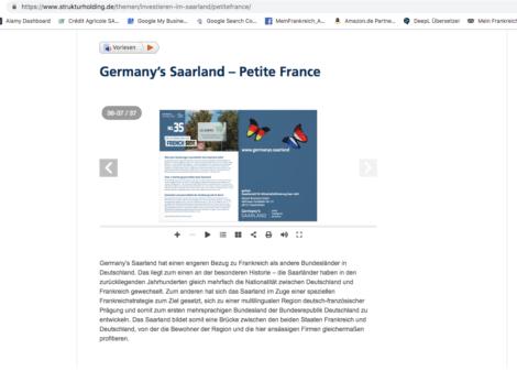 Empfehlung MeinFrankreich_Saarland_Strukturholding