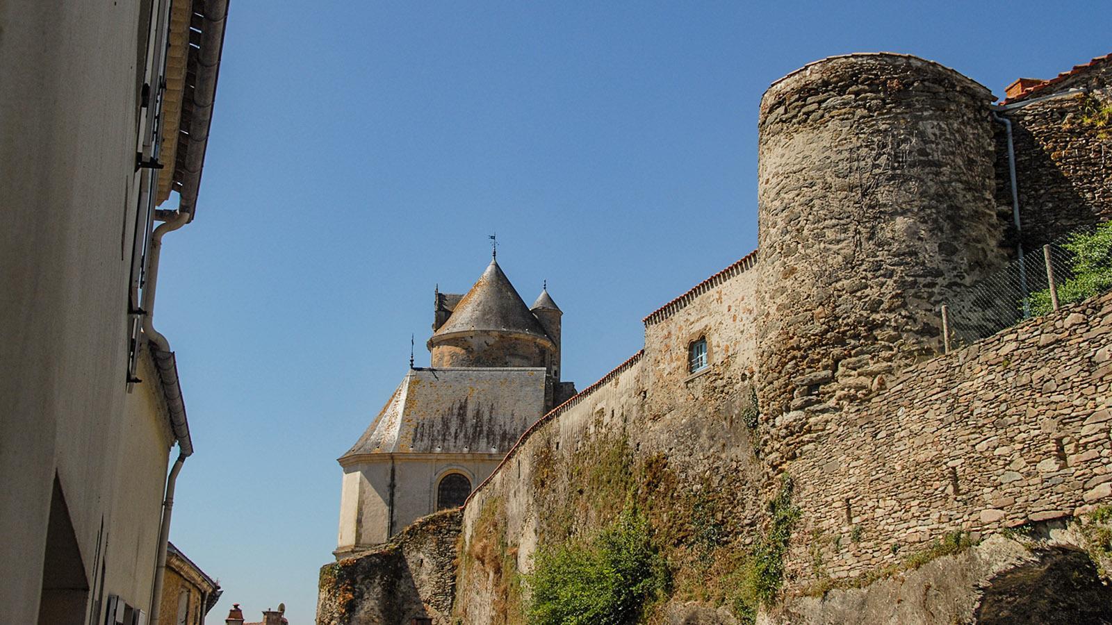 Die Burg von Apremont. Foto: Hilke Maunder