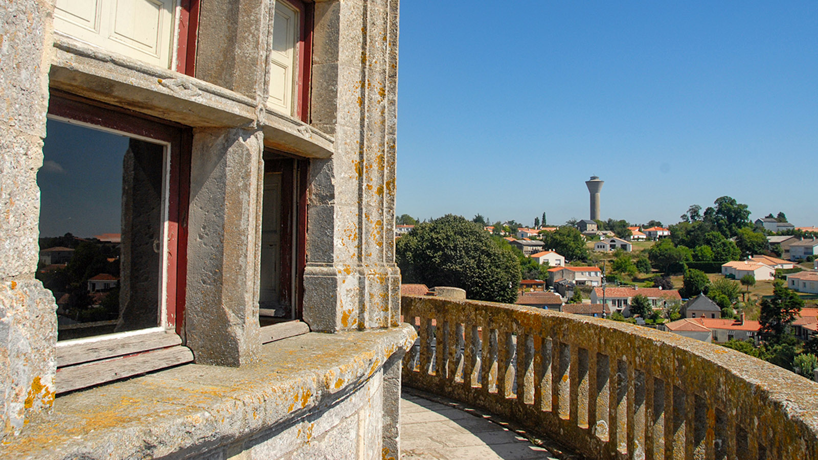 Schloss Apremont: Aussicht vom Rundturm. Foto: Hilke Maunder