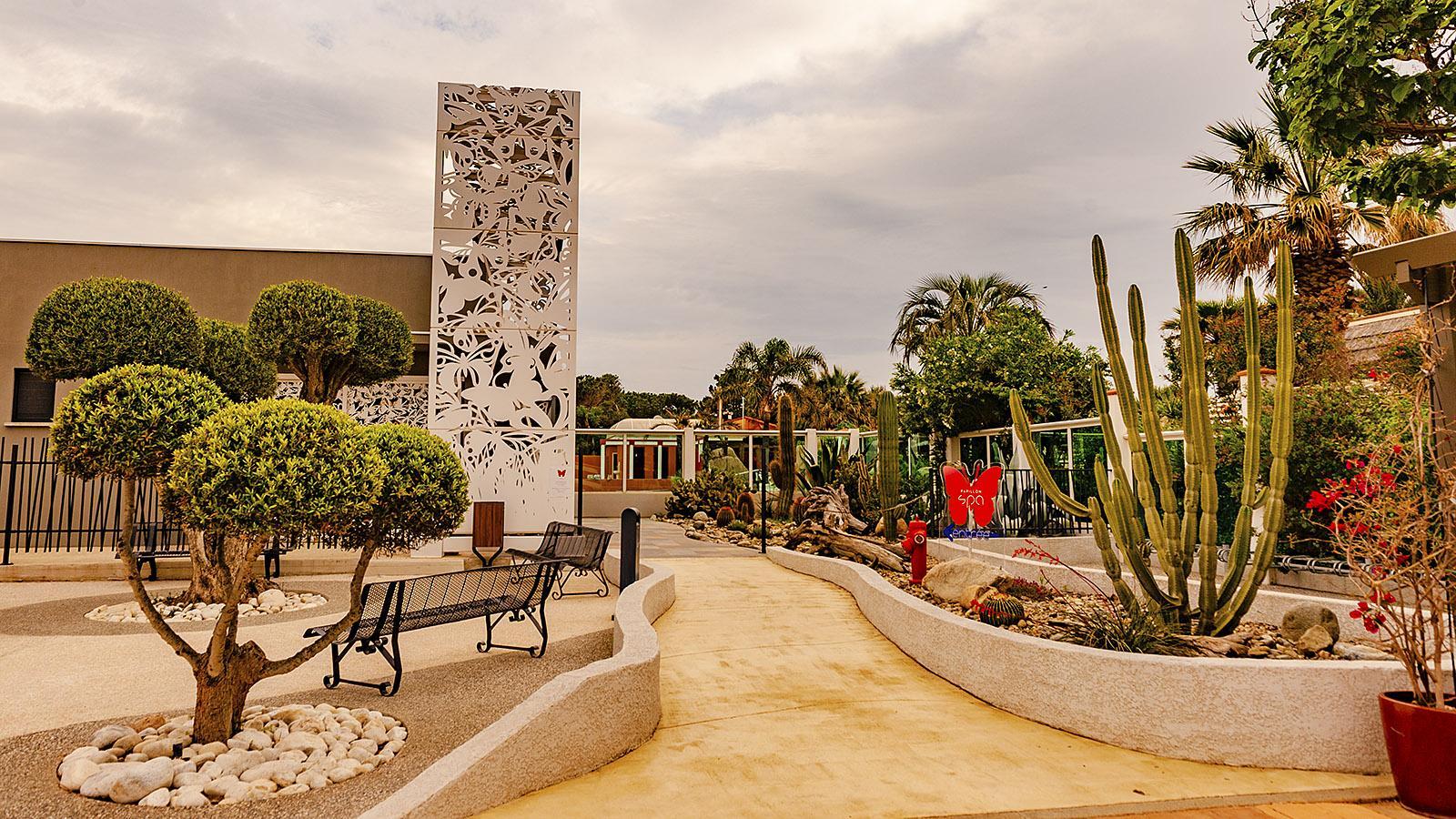 Das Papillon-Spa von Le Brasilia. Foto: Hilke Maunder