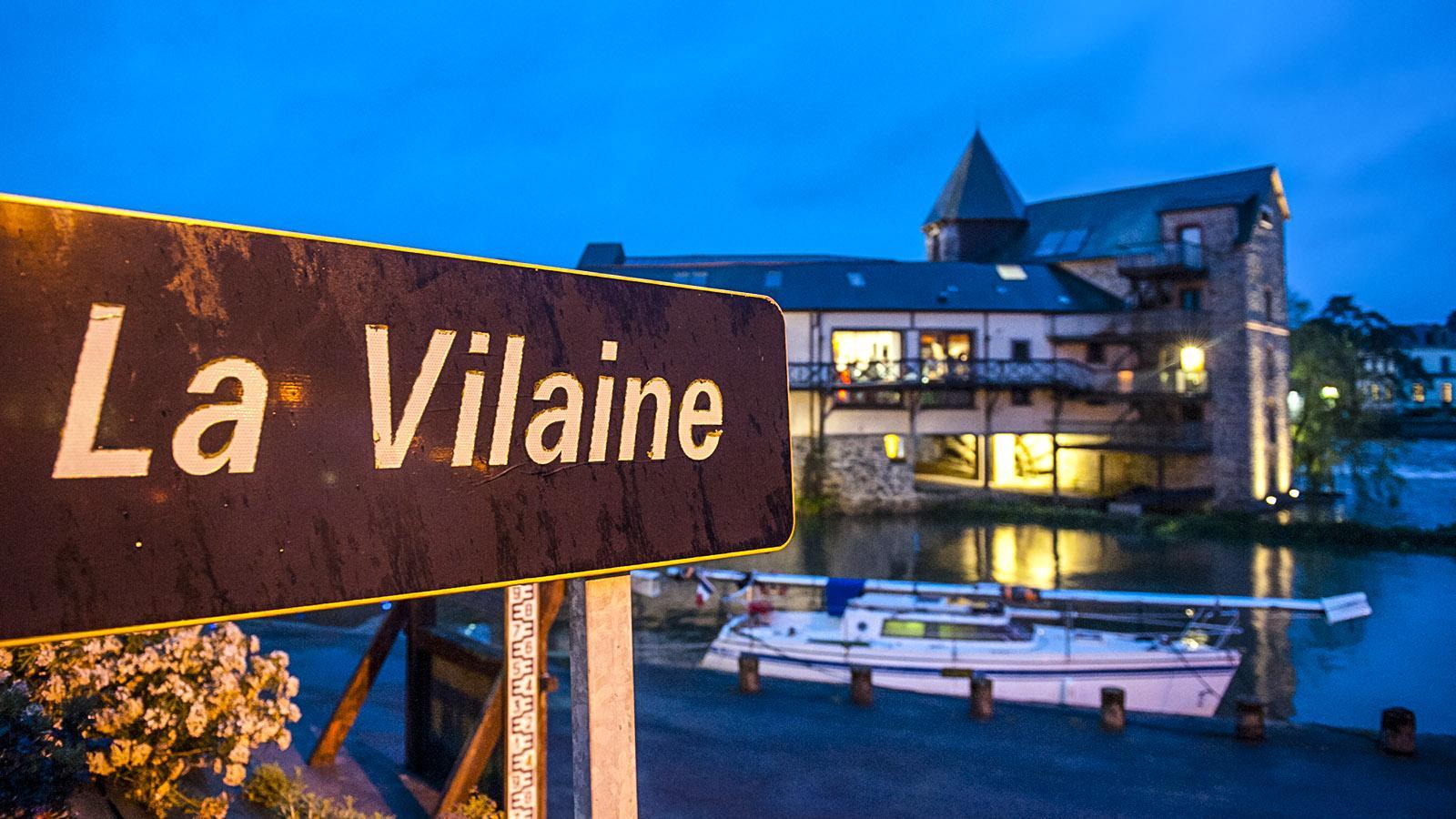 Die Vilaine bei Messac. Foto: Hilke Maunder