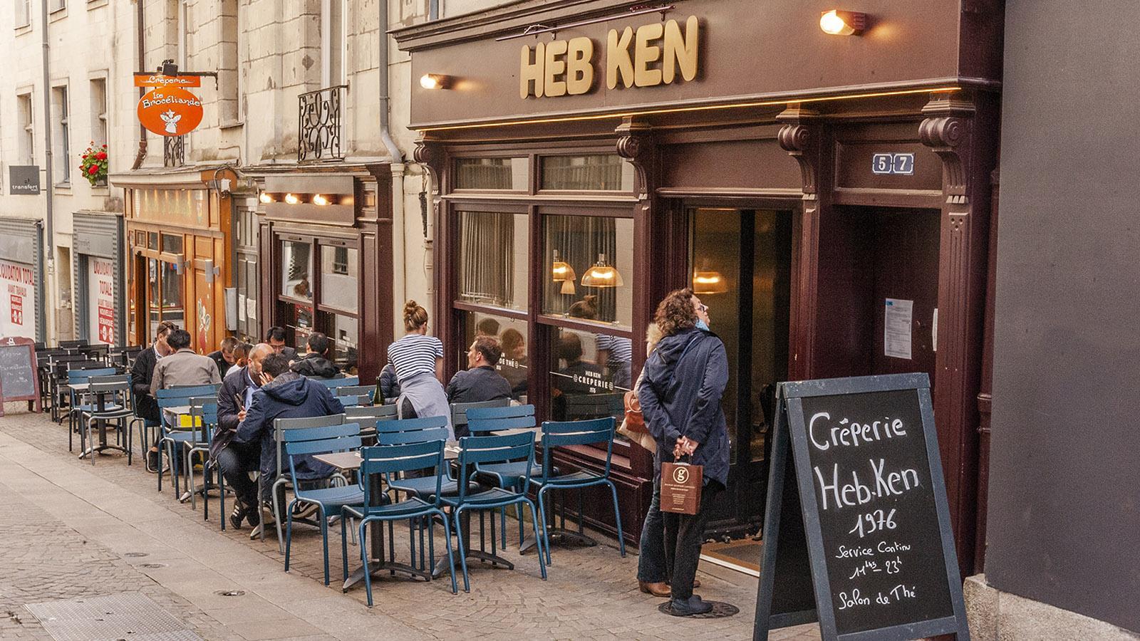 Nantes: Creperie Heb Ken. Foto: Hilke Maunder