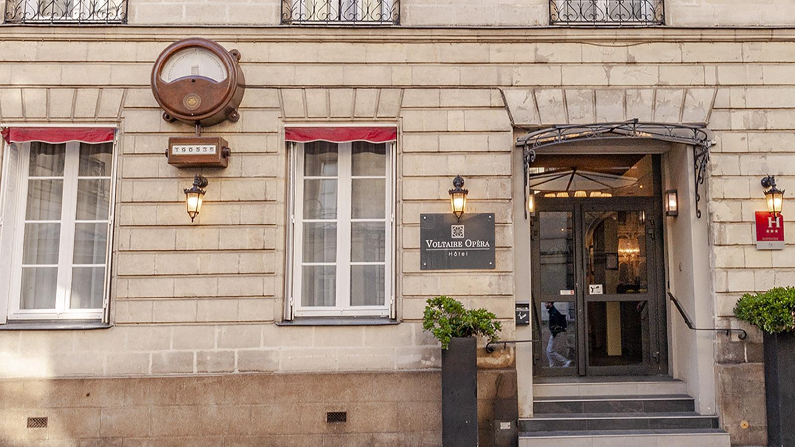 Nantes: Hôtel Voltaire Opéra. Foto: Hilke Maunder