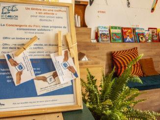 Solidarität im Kleinen: gelebte Nachbarschaftshilfe auf der Île de Nantes Foto: Hilke Maunder
