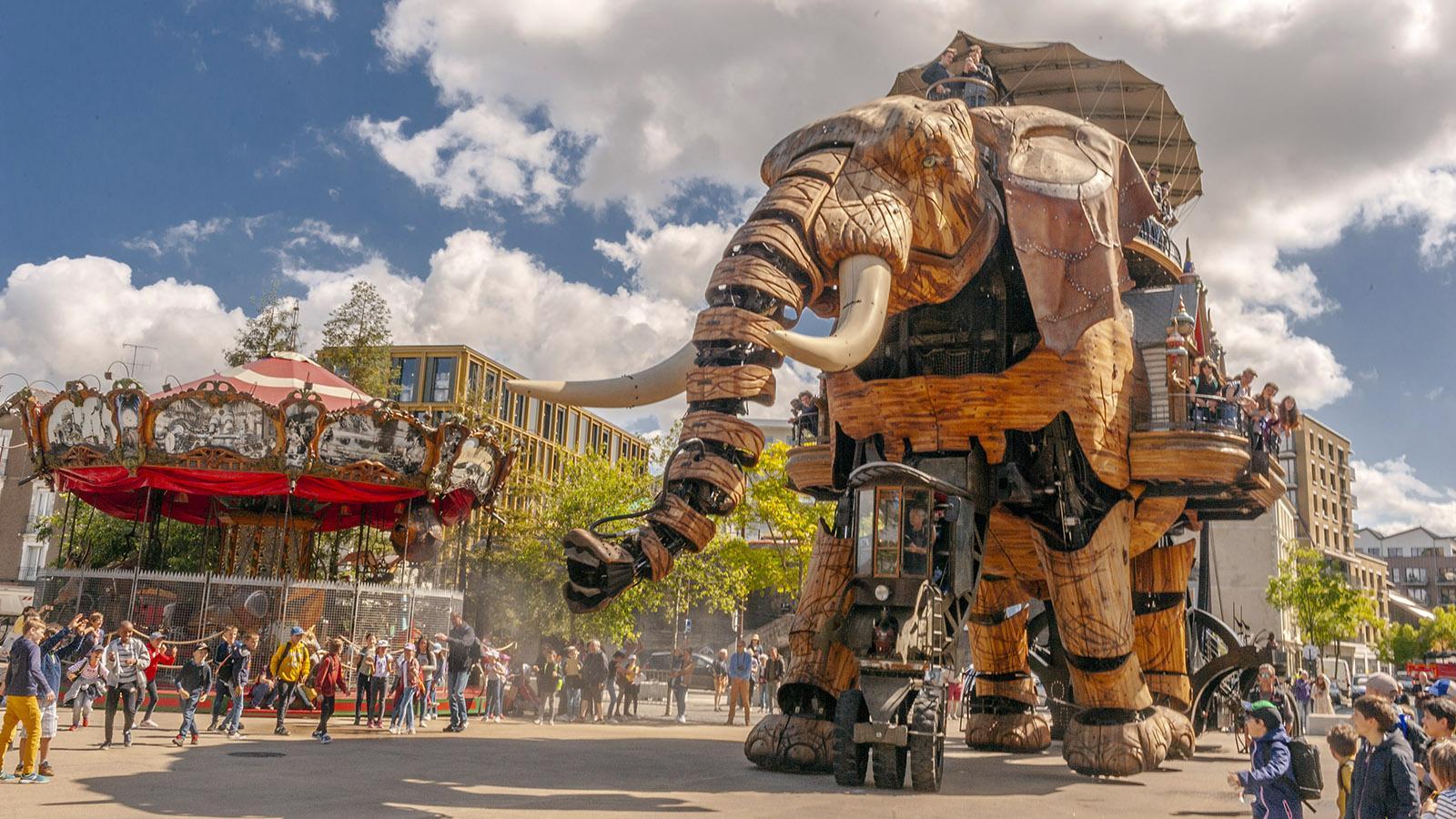 Nantes: Le Grand Éléphant. Foto: Hilke Maunder